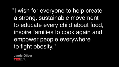 Jamie Oliver wins 2010 TED prize